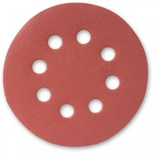 Image of Multi Holed Power Tool Sanding Discs