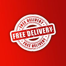 Image for Free delivery on orders over £100 - Exclusions apply