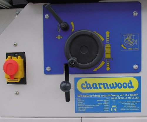 Charnwood W030 Spindle Moulder with Sliding Carriage