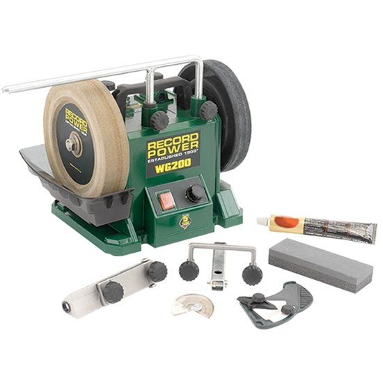 "Record Power WG200-PK/A 8"" Wet Stone Sharpening System"