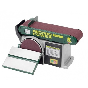 "Record Power BDS150 6"" x 4"" Belt & Disc Sander"
