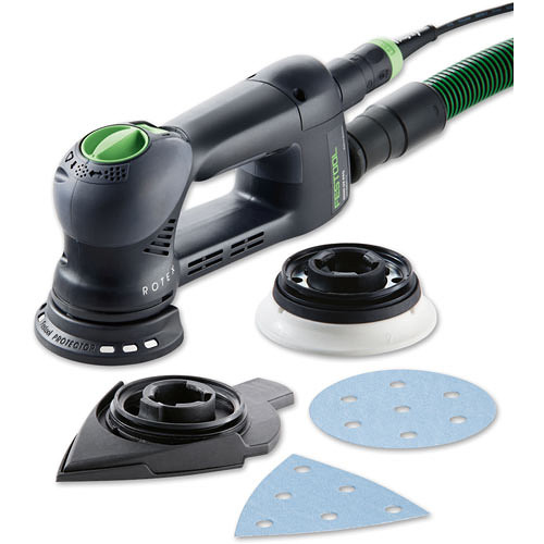 Festool RO 90 DX FEQ-Plus 240V Geared Eccentric Sander ROTEX