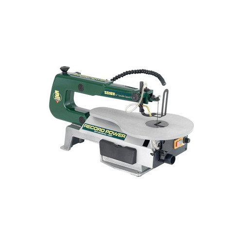 "Record Power SS16V 16"" Variable Speed Scrollsaw"